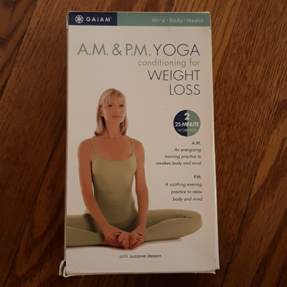 Gaiam Other Gaiam Am Pm Yoga Vhs Tapes Poshmark